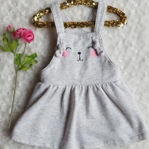 Cat & Jack overalls dress 💕